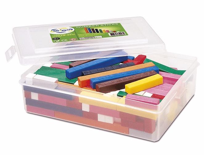 пластиковые палочки Кюизенера в наборе
