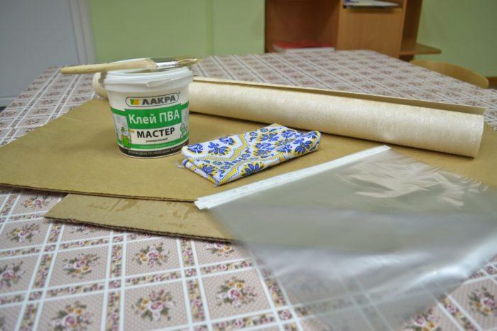 Материалы для изготовления папки-передвижки
