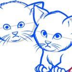 Котята, шаг 6