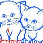 Котята, шаг 8