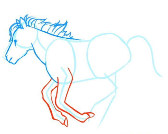 Пони в движении, фото четыре