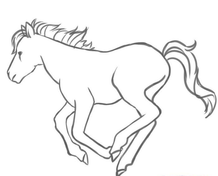 Пони в движении, фото шесть