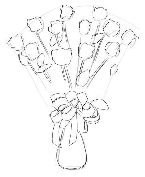 Букет роз, фото 3