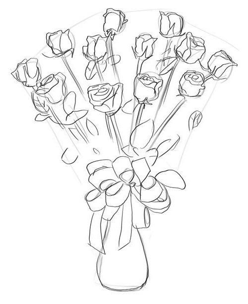 Букет роз, фото 4
