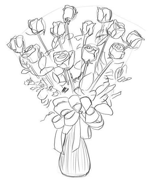 Букет роз, фото 5