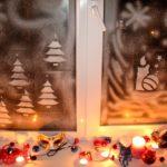 Ёлочки, свеча и метель