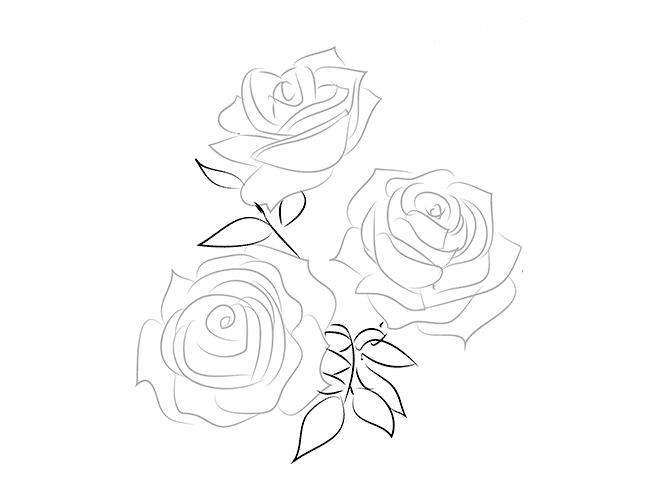 Розы в вазе, фото 3