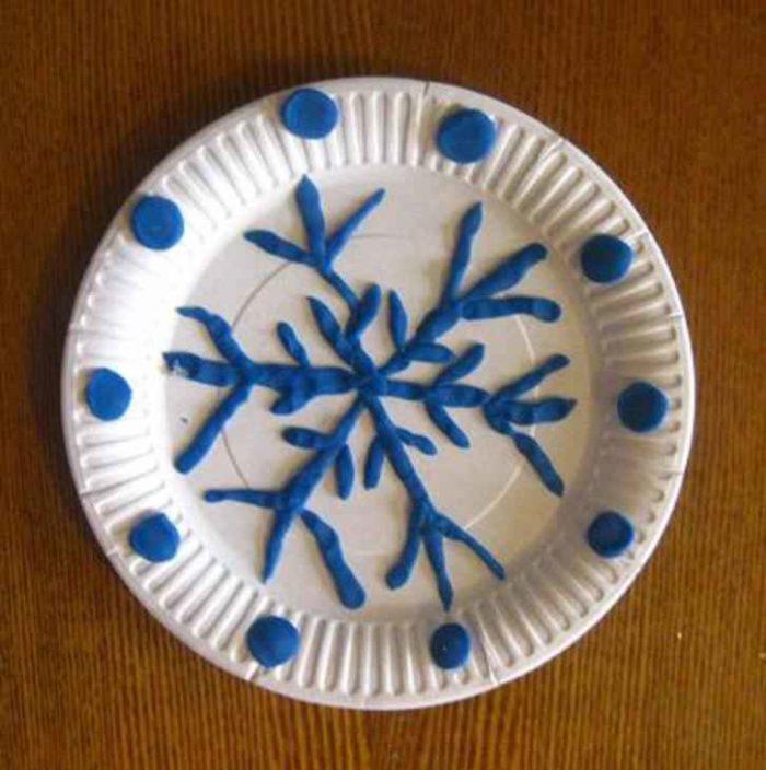 Поделки из пластилина на тарелки 76