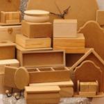 Заготовки из дерева и папье-маше