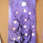 Рисунок «Дерево ночью»