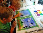 Кляксография - увлекательная нетрадиционная техника рисования, которую можно и нужно использовать в детском саду