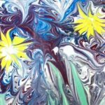 Композиция «Космические цветы»