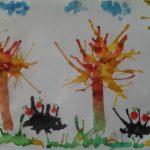 Рисунок «Осень в лесу»