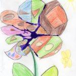 Рисунок «Волшебный цветок счастья»