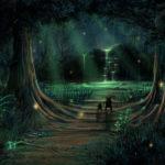 Заколдованная полянка в лесу