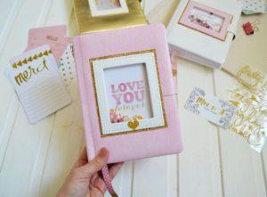 Идея для оформления личного дневника девочки