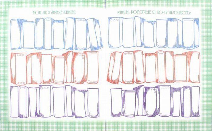 Страница читательского дневника