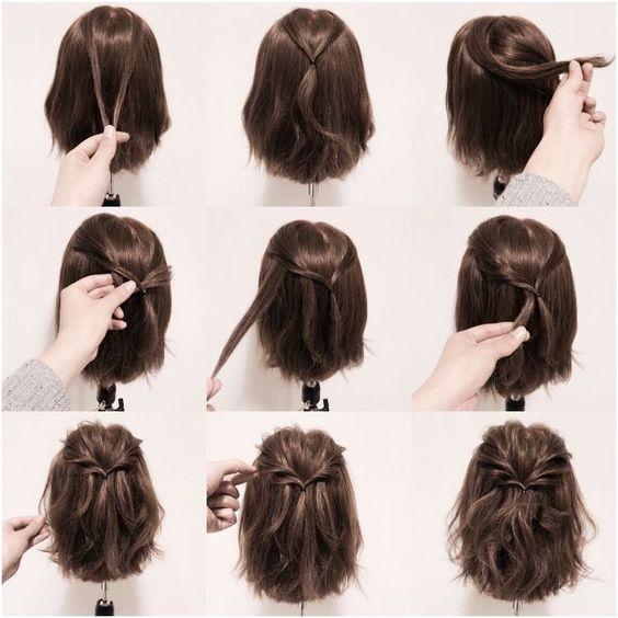 прически на 1 сентября на короткие волосы