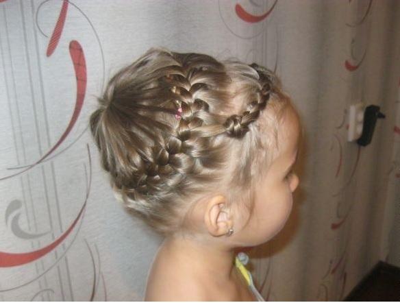 прически на длинные волосы к 1 сентября