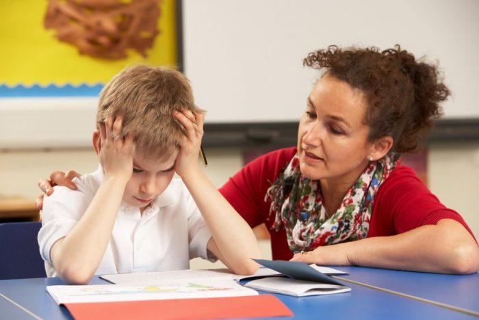 Мальчик с учителем