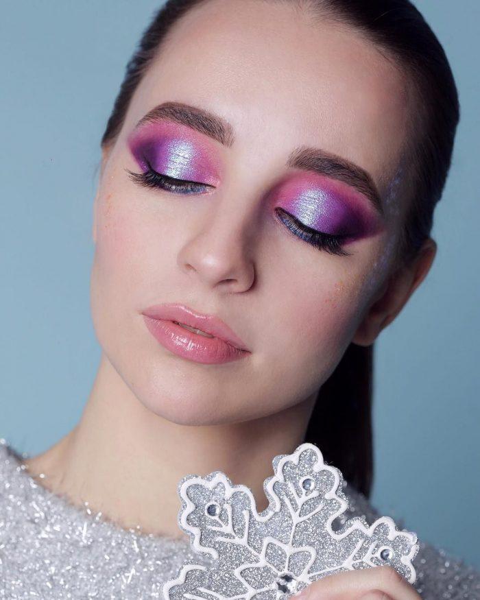 праздничный макияж в школу