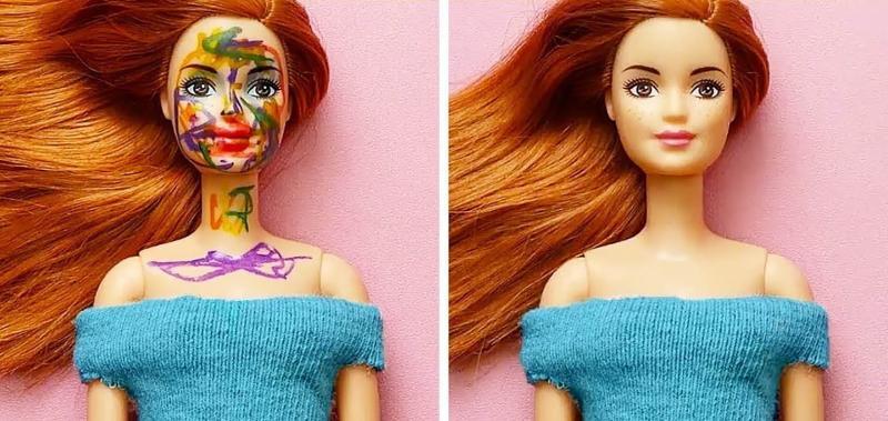 10 лайфхаков для кукол Барби и не только