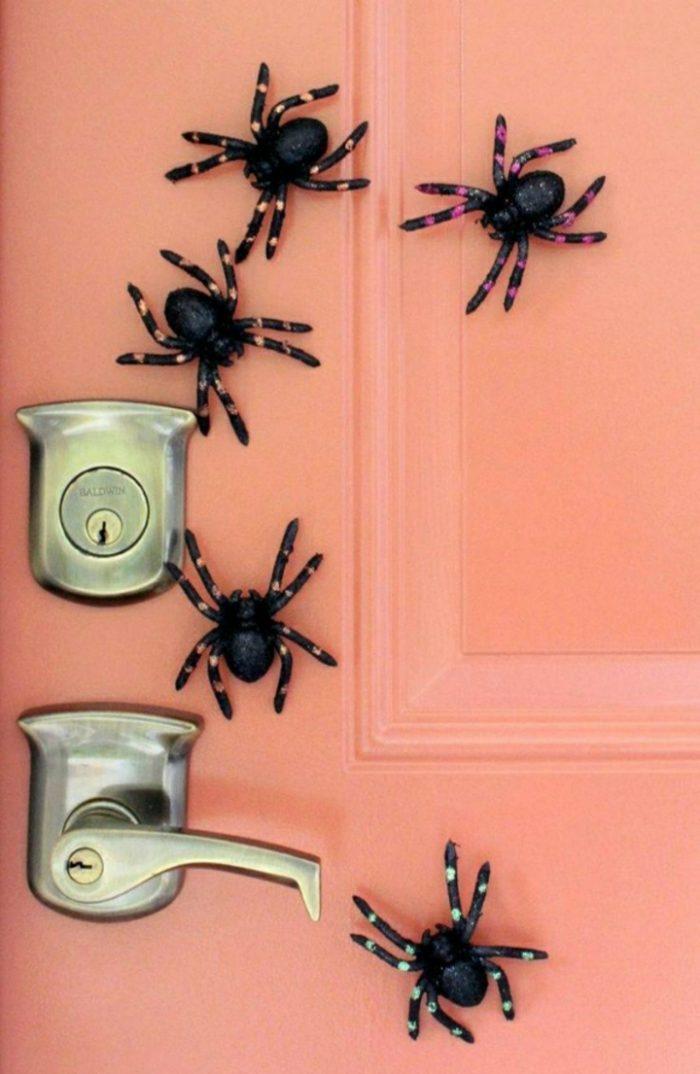 Пауки для Хэллоуина