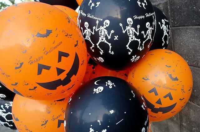 Шарики для Хэллоуина