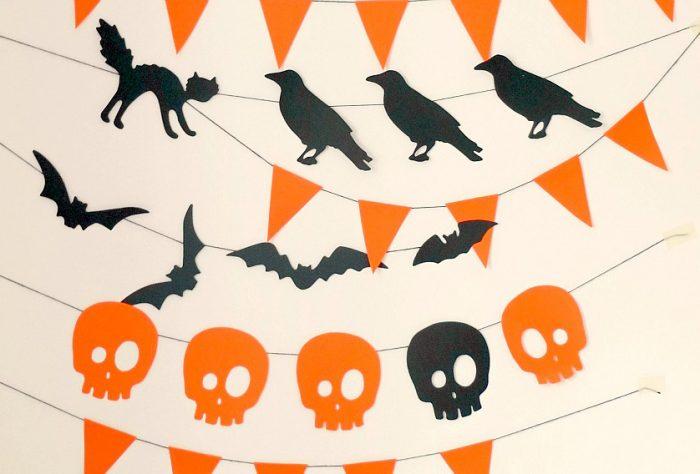 Флажки для Хэллоуина