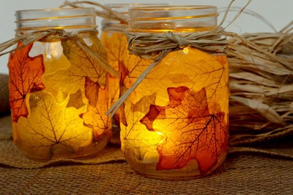 Осенние подсвечники