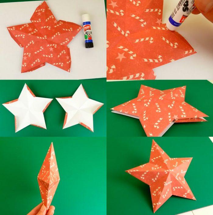 Создание бумажной звезды