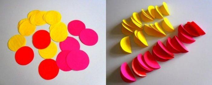 Заготовки для бумажных шаров