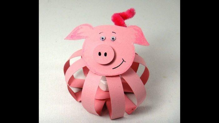 Символ нового года — свинья
