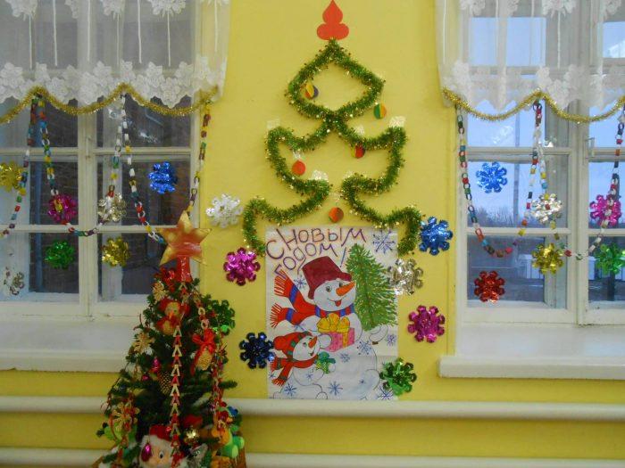 Как украсить класс на новый год