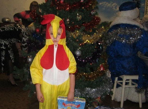 смешной детский новогодний костюм