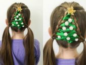 Причёски на Новый год для девочек в школу: 30 оригинальных идей