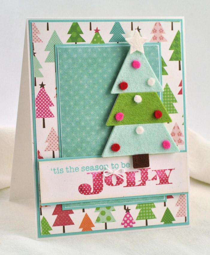Новогодние и открытки своими руками