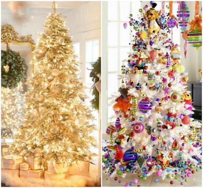 Идеи украшения ёлки на новый год
