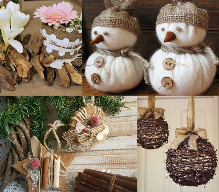 Идеи для украшения дома на Новый год — снеговики, звезды, шары