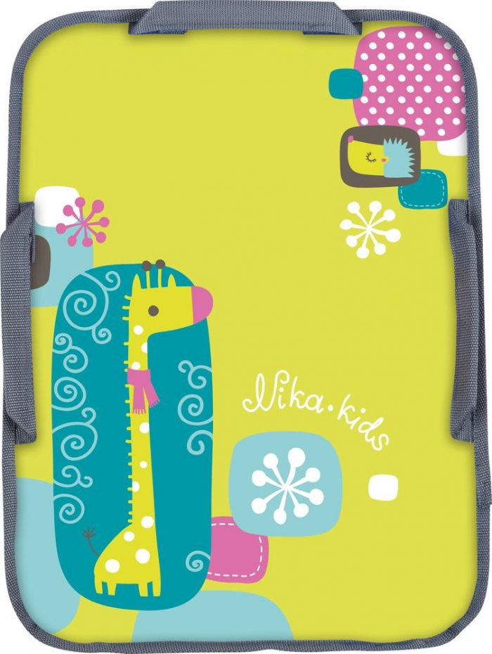 Ледянка с картинкой жирафа − подарок на Новый год