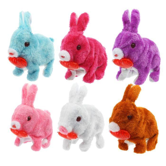 Интерактивные мягкие игрушки − кролики