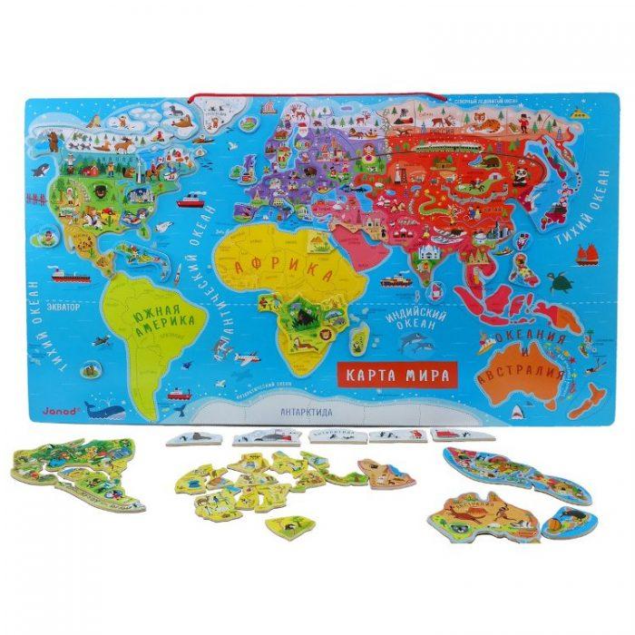 Большая карта мира