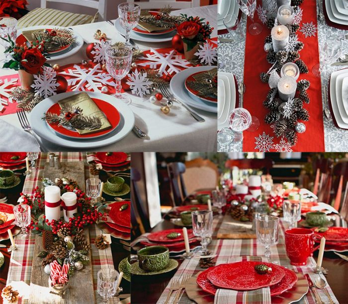 Оригинальное украшение новогоднего стола