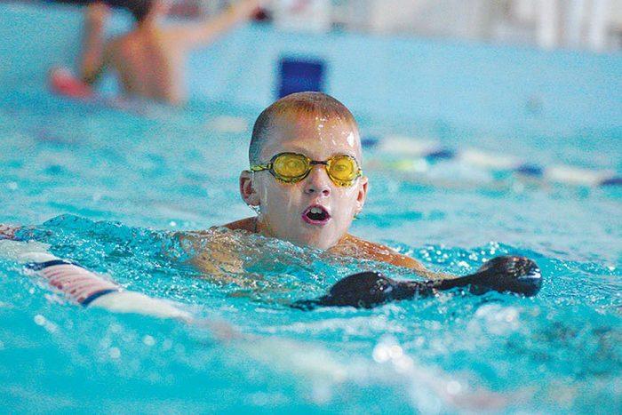 Абонемент в бассейн для ребёнка