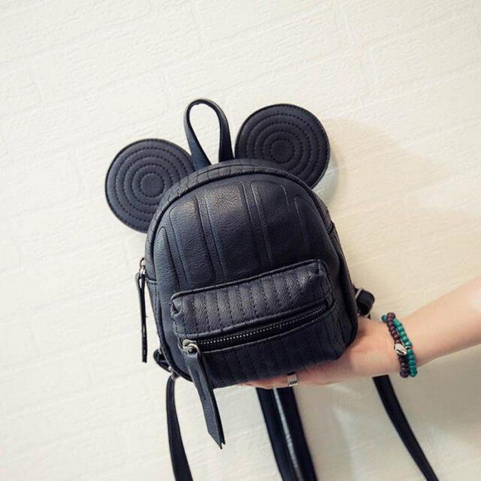 Кожаный рюкзачок для девочки