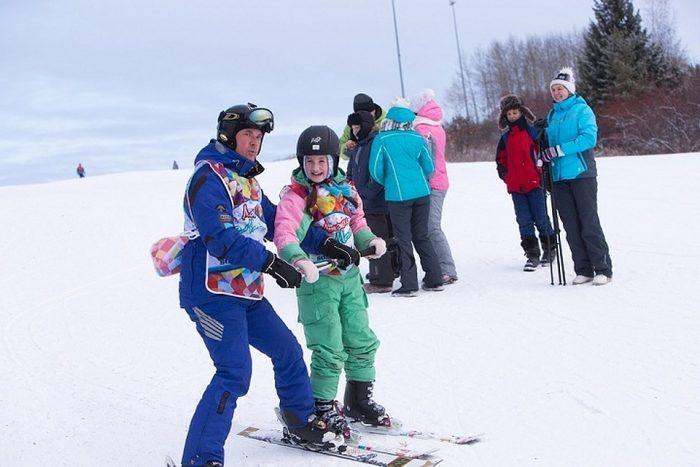 Лыжи 12+