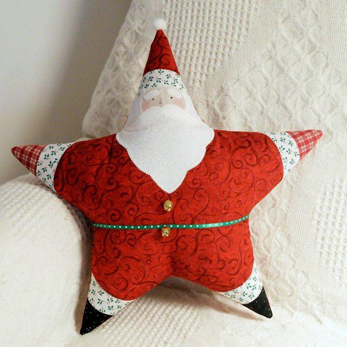 Дед Мороз поделка