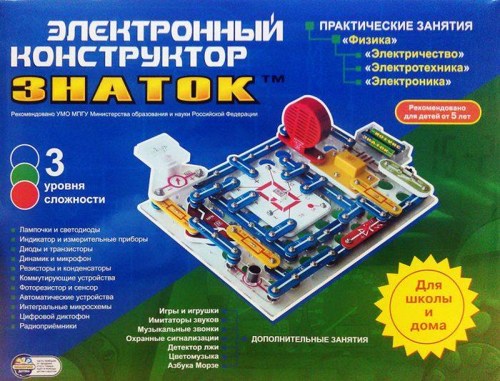 Электрический конструктор 14+