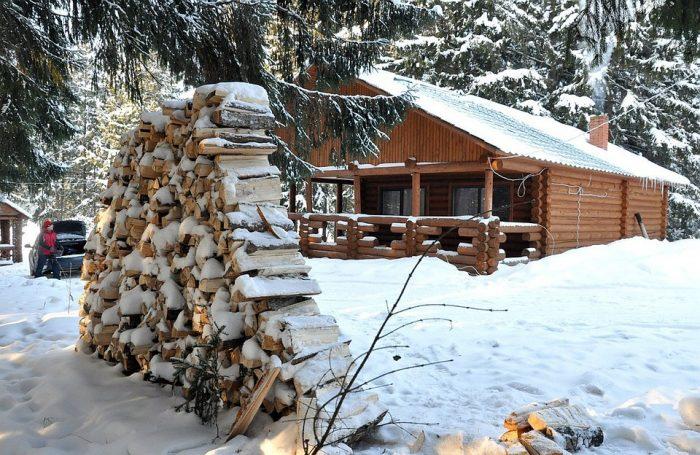 Лыжная база на Новый год