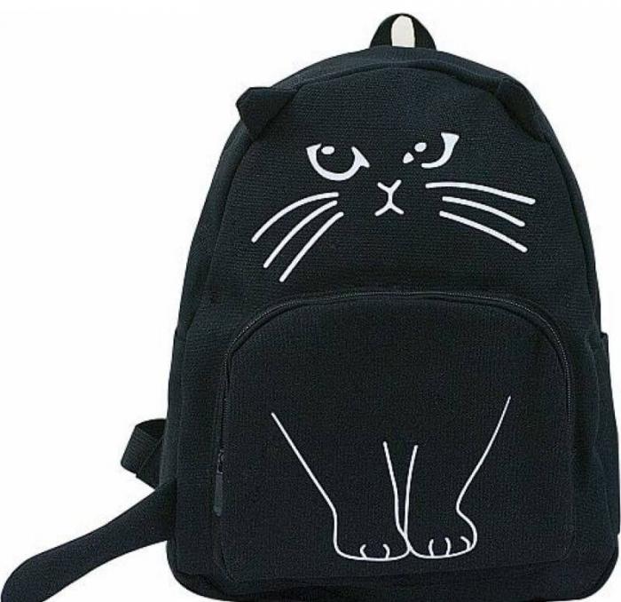 Молодёжный рюкзак для девочки